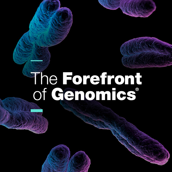the forefront of genomics logo, A new state-of-the-art laboratory at the University of North Texas