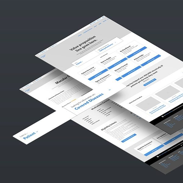 Good Days Wireframes