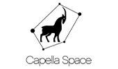 Capella Space logo, a US space company founded by Payam Banazadeh and William Walter Woods that aims to create capabilities for hourly, reliable, and persistent imagery of anywhere on the globe.